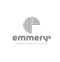 Customer logo emmerys organic coffee house and bakery